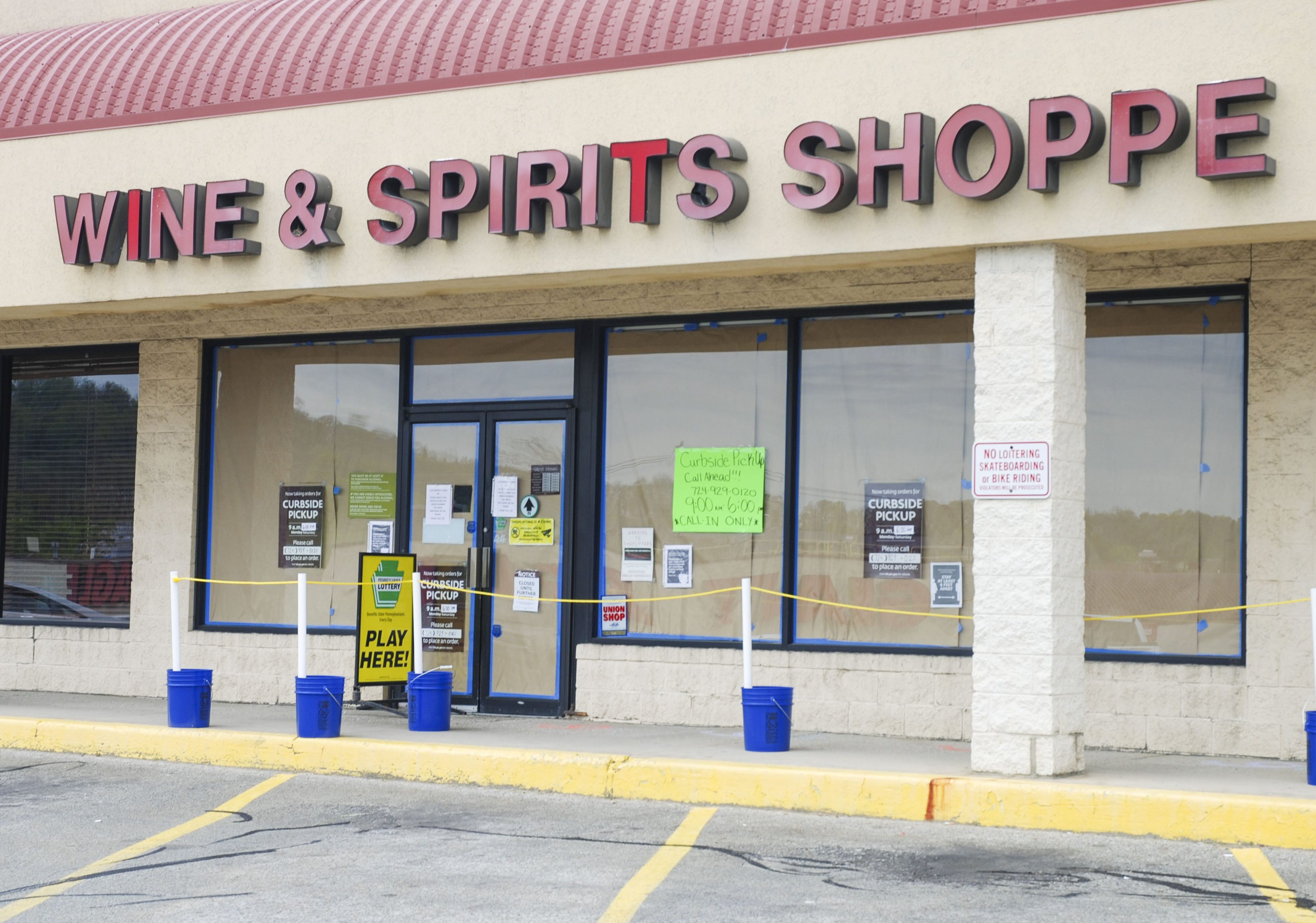 Liquor Stores In The Area Will Admit Shoppers Starting Today The Mon Valley Independent